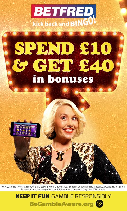 Betting offers betfred bingo coral betting shop redditch cinema