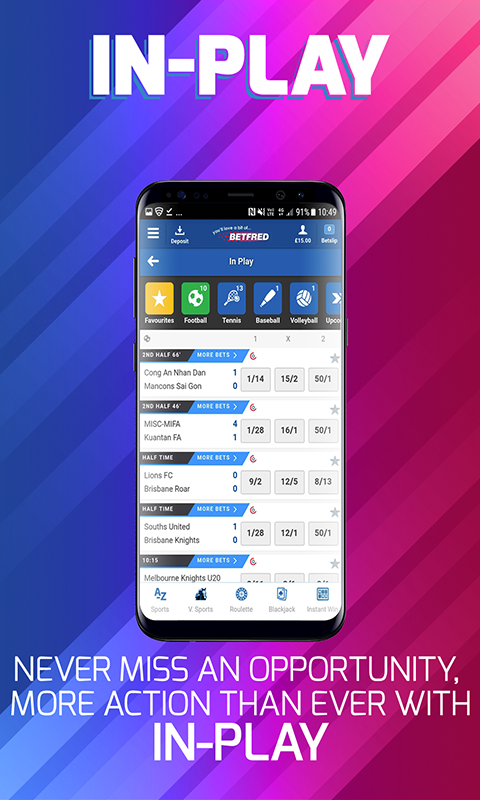 open golf betting betfred mobile