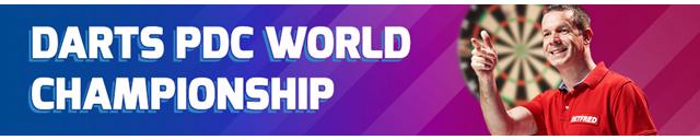 Pdc world darts championship betting odds qarabag monaco betting on sports